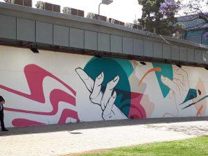 אומנות רחוב וגרפיטי בתל אביב , יריד צבע טרי