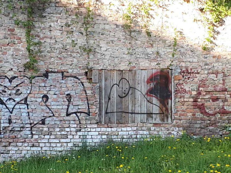 אומנות רחוב וגרפיטי בריגה