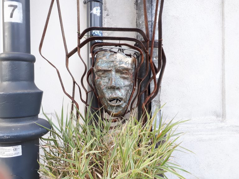 קראקוב פולין אומנות רחוב וגרפיטי