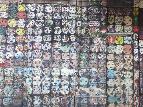 אומנות רחוב בוורשה, רובע פראגה