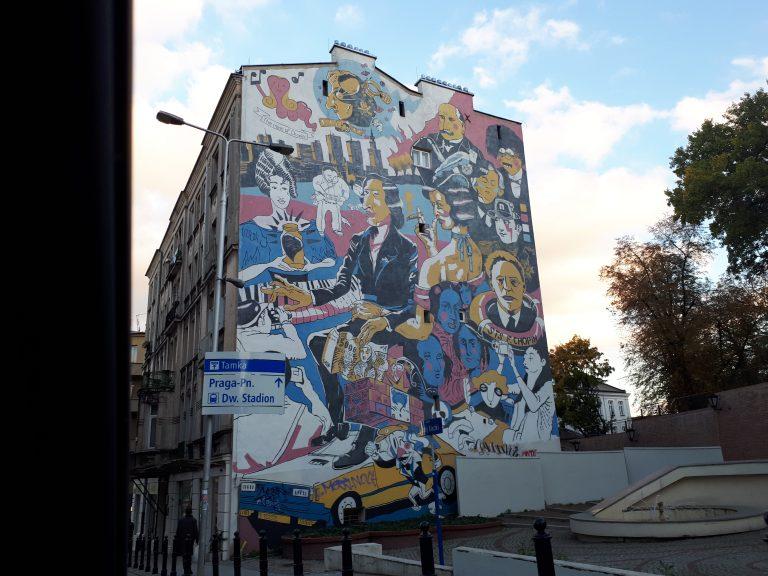 ורשה אומנות רחוב