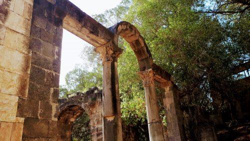מרחצאות רומיים עתיקים בחמת גדר
