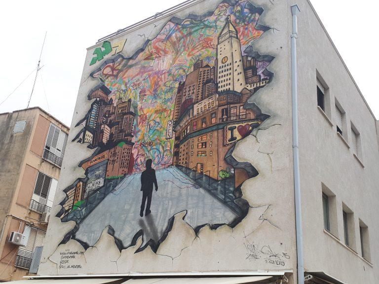 אומנות רחוב בנתניה
