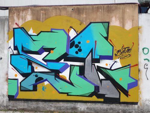 אומנות רחוב וגרפיטי בבטומי גאורגיה