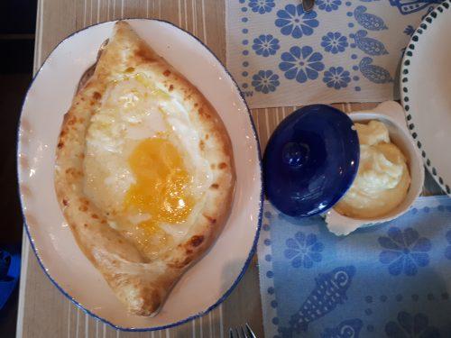 ארוחה גאורגית בהילטון בטומי