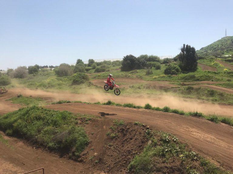 מסלול אופנועים בגולן