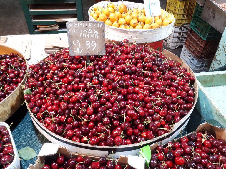 השוק בסלוניקי