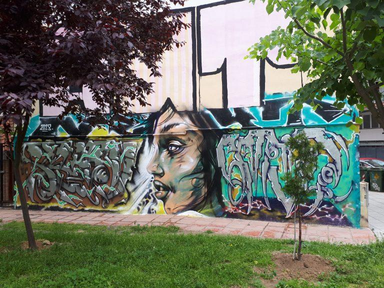 אומנות רחוב וגרפיטי בסלוניקי