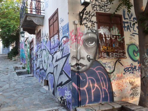 סיור גרפיטי באתונה