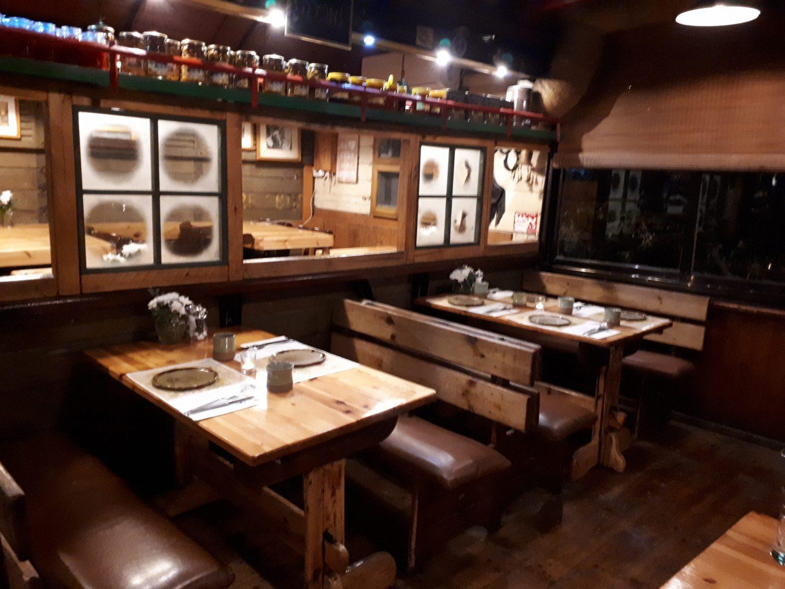 מסעדת בת יער, בירייה, צפת