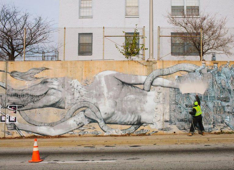 אומנות רחוב אמריקה