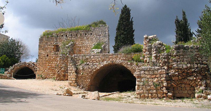 מבצר יחיעם טיול בגליל המערבי