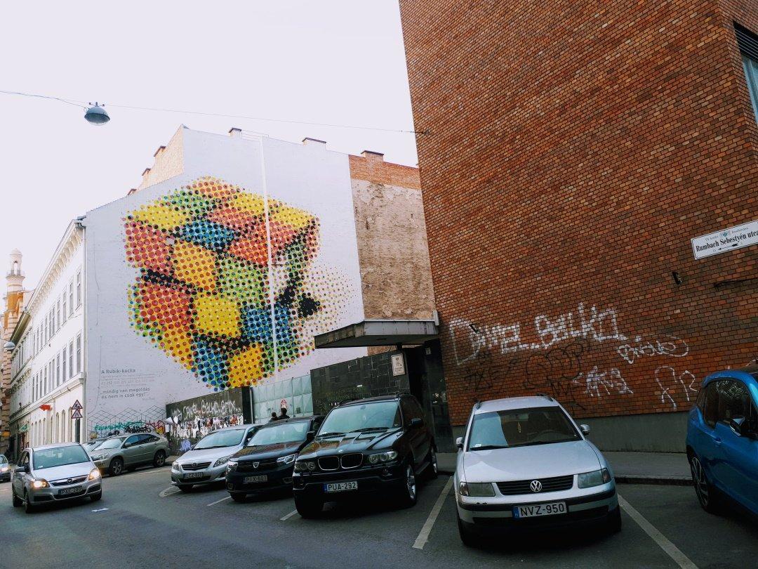 אומנות רחוב בבודפשט