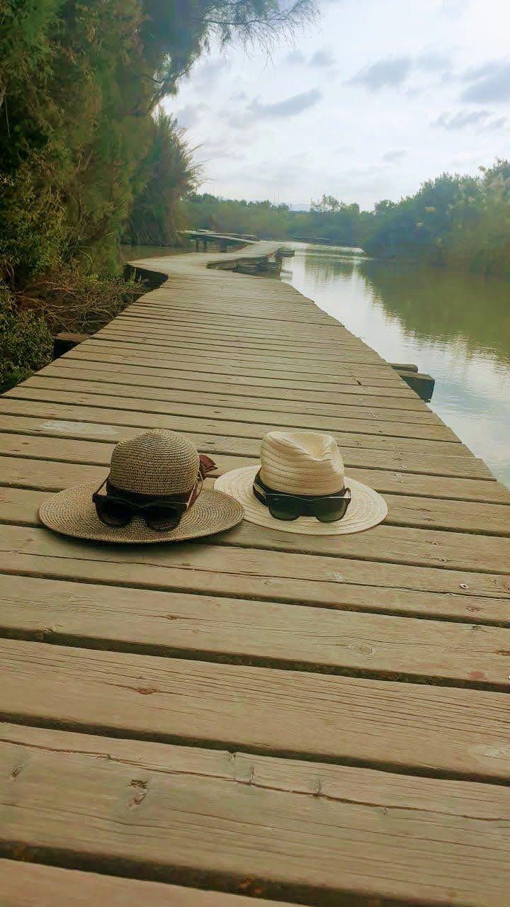 נחל נעמן - בגשר הצף שמורת טבע עין אפק