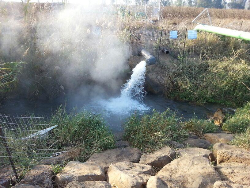 מעיינות חמים בישראל