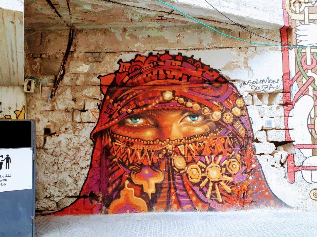 אומנות רחוב ביפו