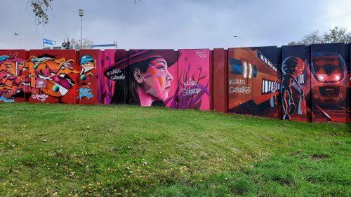 אומנות רחוב באיידהובן הולנד