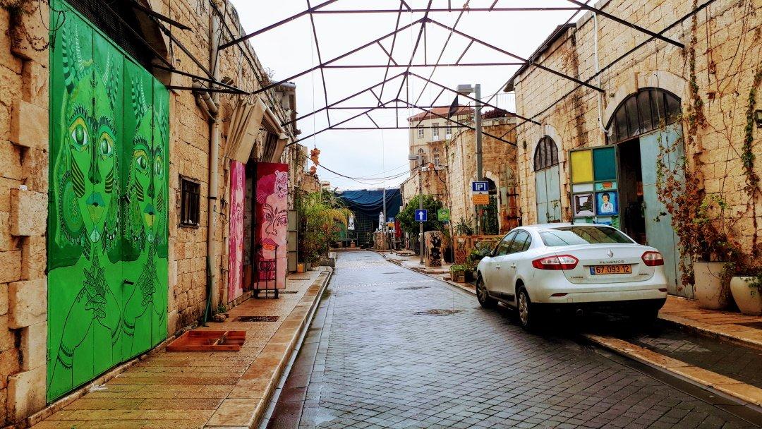 השוק היווני יפו