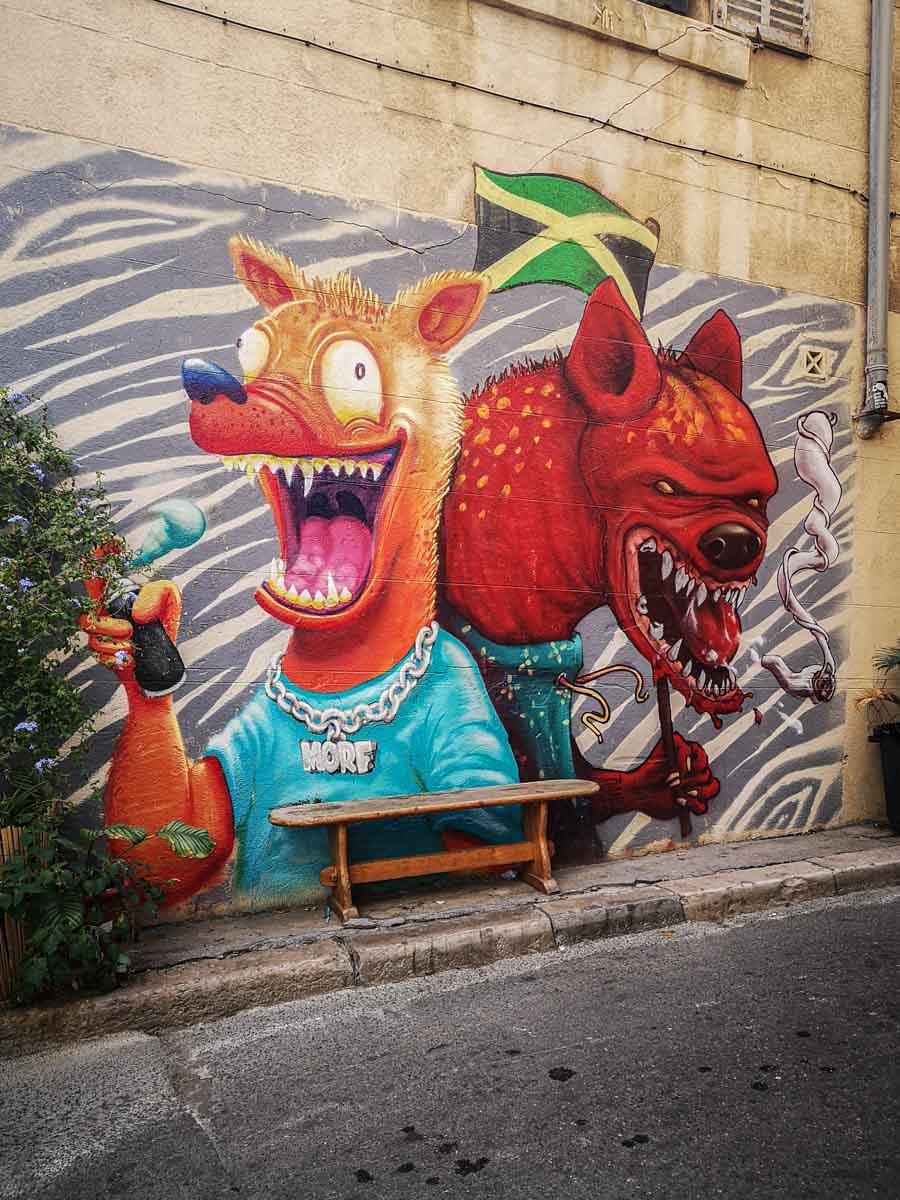 אומנות במרסיי