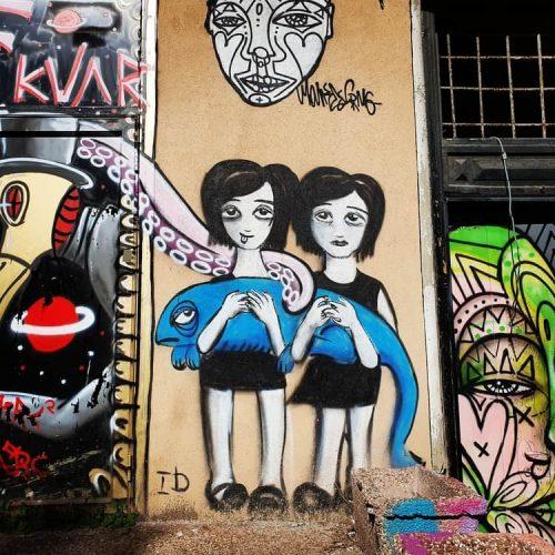 הברווז הדמיוני בתל אביב