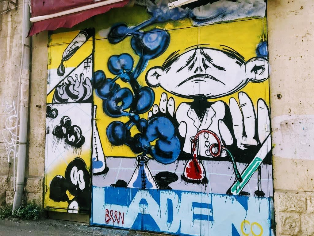 אומנות רחוב בחיפה