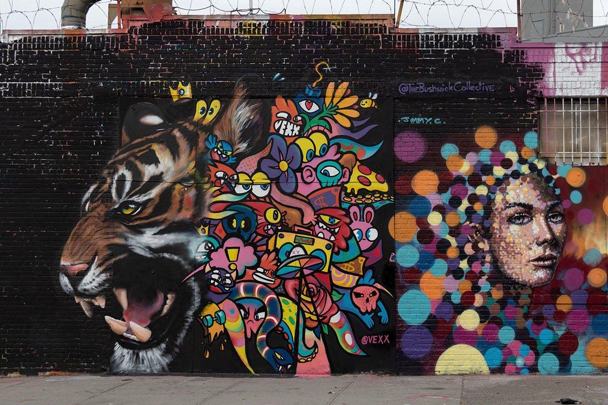 אומנות רחוב בניו יורק
