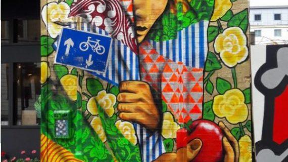 מה בין גרפיטי, אומנות רחוב, וציורי קיר?